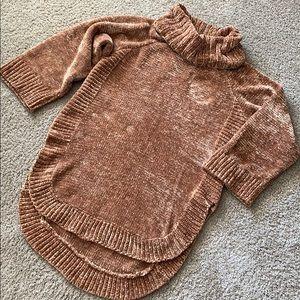 Anthropologie turtleneck sweater